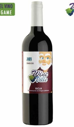 John wineville vinos. Crianza Rioja