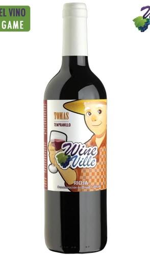 Tomas wineville vinos. Rioja Tempranillo